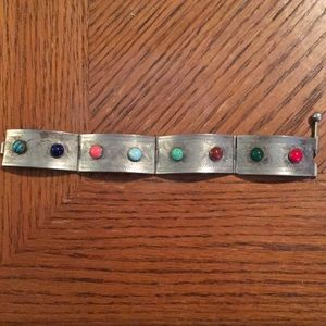 {Vintage} Tibetain silver bracelet
